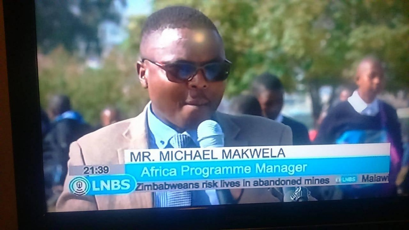 School Aid makes it onto Lesotho TV