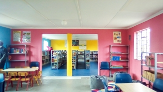 A newly created school library